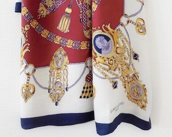 AZZARO - Foulard vintage en soie 32489712c0c