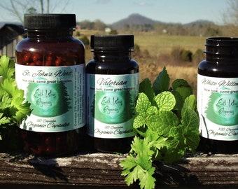 Alfalfa Capsules 225 mg Herbalist Prepared From Certified Organic Alfalfa