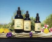 Lemon Balm Tincture Extract Herbalist Prepared From Certified Organic Herbs