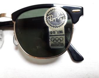 6e33132014 RAY BAN original B L Clubmaster sunglasses