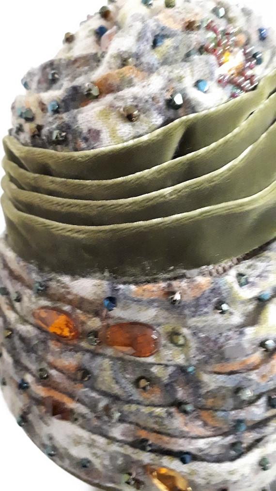 ELSA SCHIAPARELLI iconic vintage hat, haute coutu… - image 5