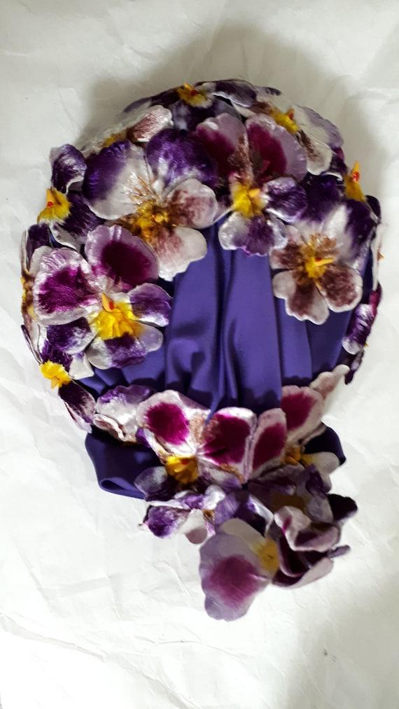 ELSA SCHIAPARELLI vintage hat, haute couture, Par… - image 9