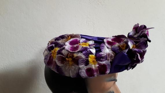 ELSA SCHIAPARELLI vintage hat, haute couture, Par… - image 1