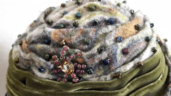 ELSA SCHIAPARELLI iconic vintage hat, haute coutu… - image 4