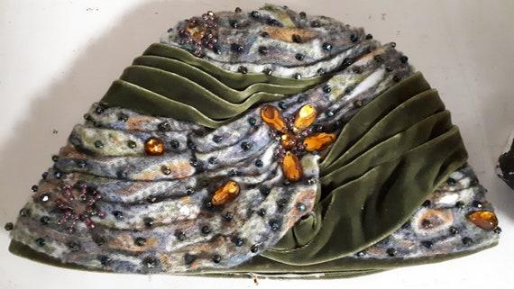 ELSA SCHIAPARELLI iconic vintage hat, haute coutu… - image 9