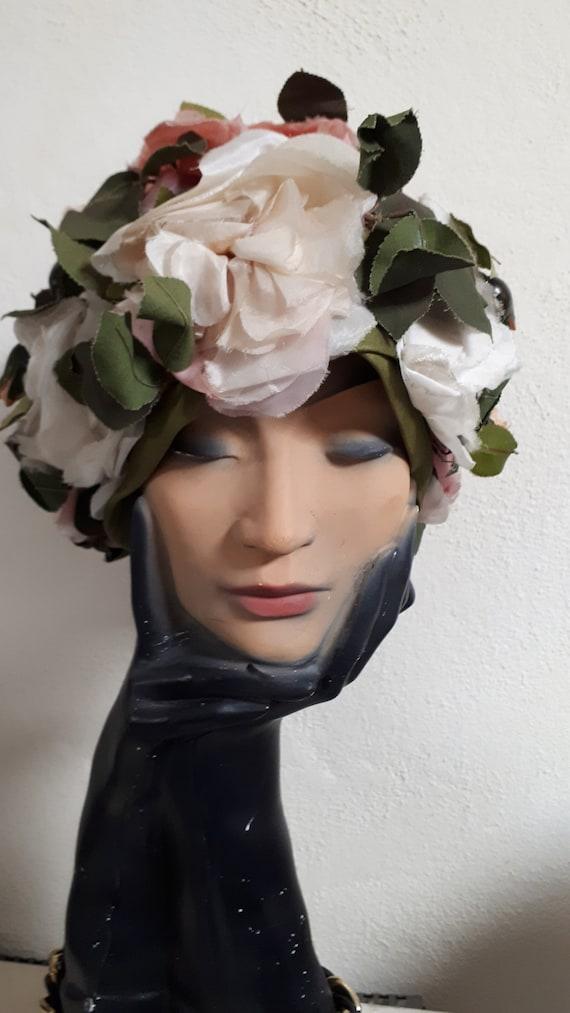 ELSA SCHIAPARELLI vintage hat, haute couture, fif… - image 3