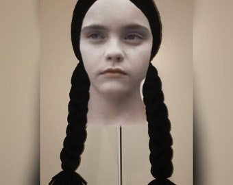 Wednesday Addams Wig Etsy