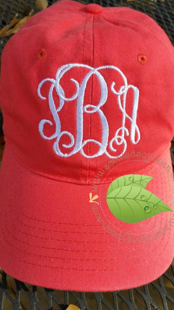 Monogrammed Baseball Caps Personalized Ball cap Men s  34d2f64b65e
