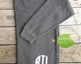 Personalized Comfort Colors Sweatshirt; Monogrammed Sweatshirt; Comfort Colors 1566 Sweatshirt; Personalized Sweatshirt Oversized Sweatshirt