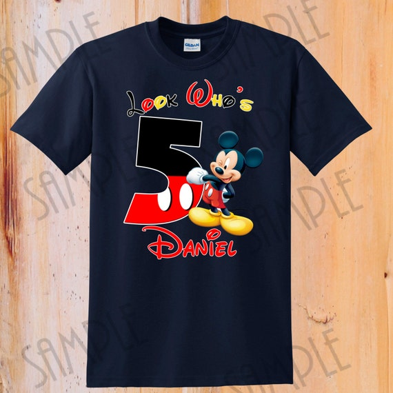 T-shirt Disney Mickey Mouse Iron On Transfer Printable  794a55a5c1afe