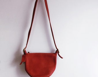 vintage 90s coach red circle bucket shoulder bag – free us shipping 375c3672a04c8