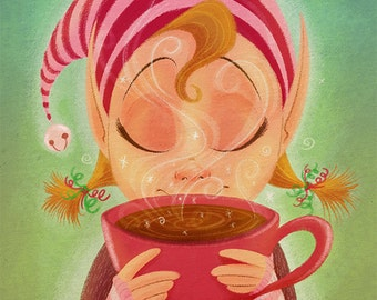 Elf's Coffee Break