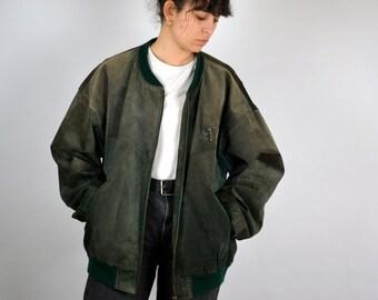 33a349a7f Bomber jacket vintage | Etsy