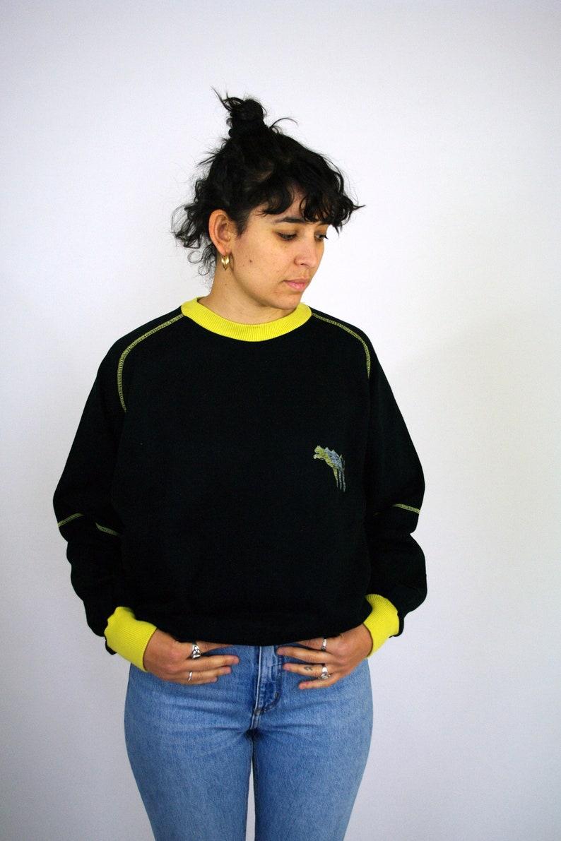 eeb36a0ddccd Vintage 90s 00s PUMA Sweatshirt Sweater Hoodie Pull Black