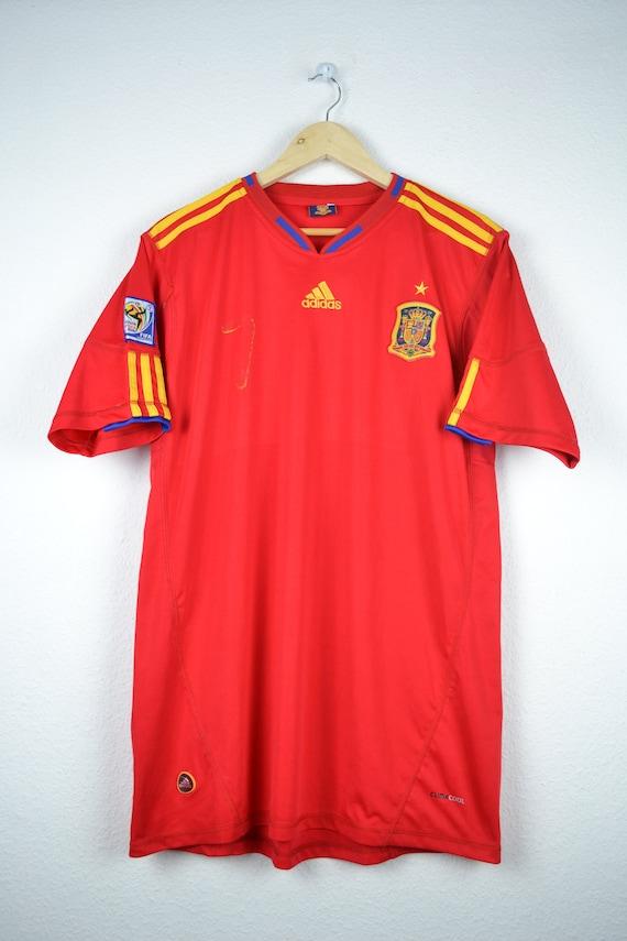 penitencia Motel castigo  Adidas Spain Football team T-Shirt Jersey South Africa World | Etsy