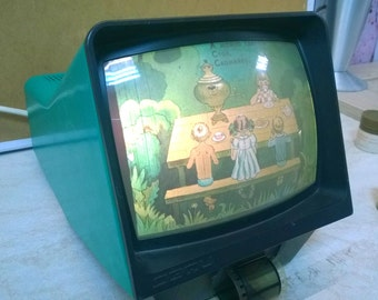 Vintage slide projector DEFI  USSR . Russia .GOOD  condition.80's