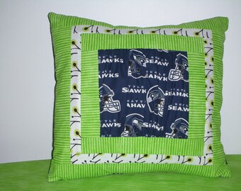 seahawk pillow