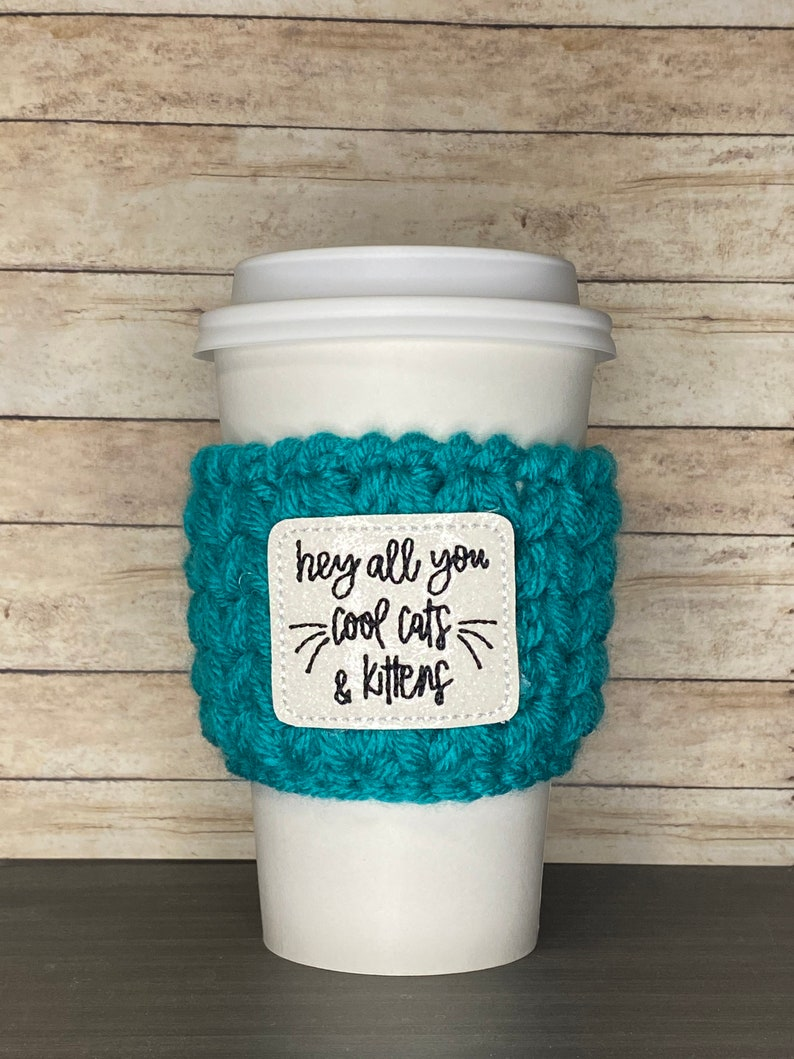 Tiger King Cool Cats /& Kittens Coffee Cozy