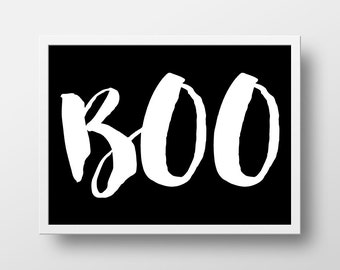 Halloween Art Print - Boo Art Print - Halloween Decor - Fall Decor - Art Prints - Halloween Printables - Instant Download - 8x10 Boo to you