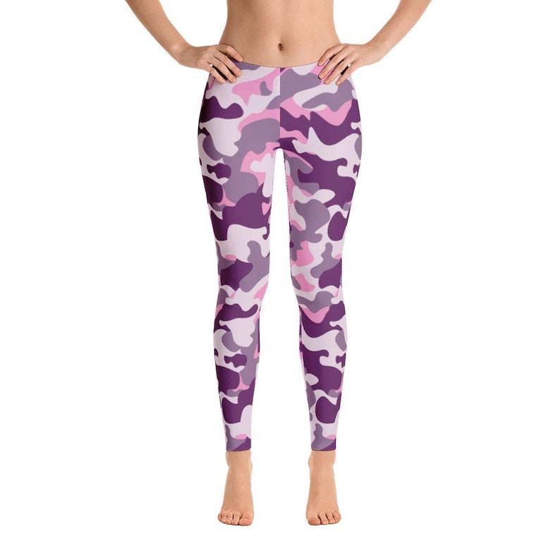 0758402403 Camouflage Leggings Camo Leggings Pink Camo Yoga Pants Camo