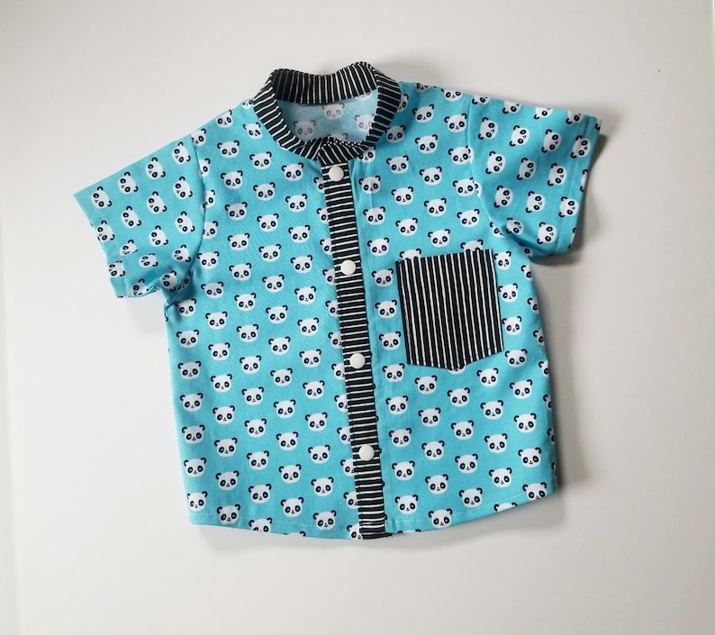 Baby Boy/'s Panda Shirt 12 months