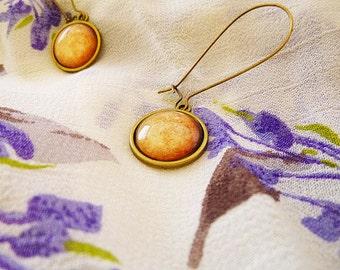 Solar System Earrings, Planet dangle earrings, Planet Jewelry, Planets, Solar System, Galaxy, Universe, Space, Stars, Sky, Zodiac Planet