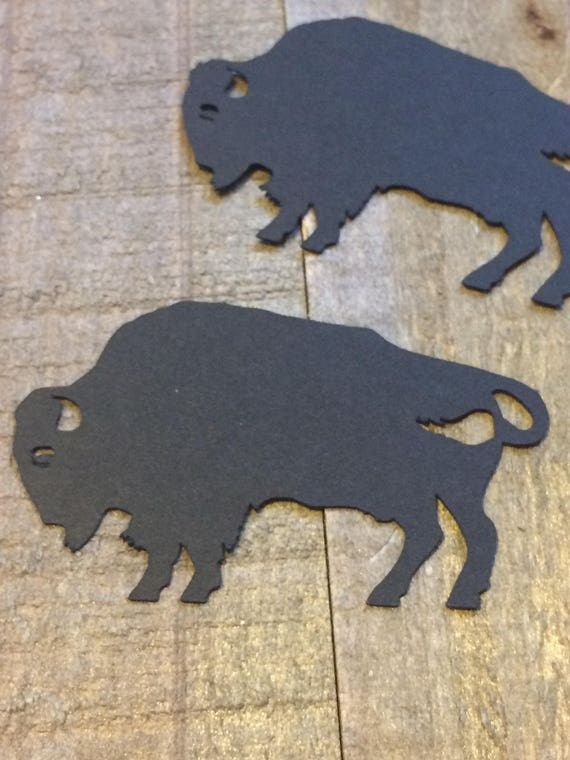Buffalo Bison Table Confetti / Western Native American Table Scatter Decor  Centerpiece Decoration / Native American Theme 12 Pieces C071 From  ConfettiGenie ...