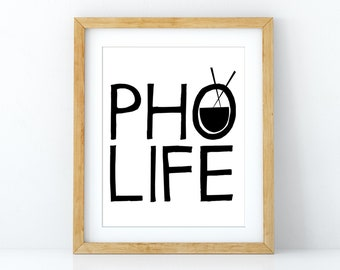 Pho Life Poster
