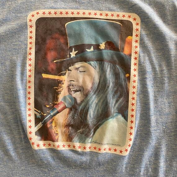 Vintage 70's Leon Russell Ringer T-Shirt // 1974 … - image 3