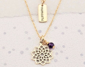 Gold Chakra necklaces