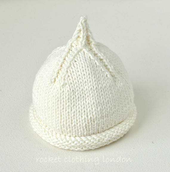 In The Round And Flat Knitting Pdf Beanie Knitting Pattern Etsy