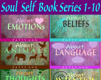 Soul Self Books 1-10 > Bundled to Save! *Spiritual Consciousness, Awareness & Enlightenment Journal Guides