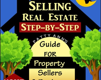 Real Estate: DIY FSBO > Step-by-Step Instruction Guidebook with Activities for Home Sellers & Realtors -PDF Download Now!