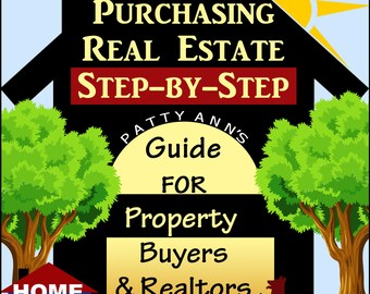 Real Estate: Buying Your Home > Step-by-Step Instruction Guidebook + Activities for Property Buyers & Realtors  -PDF Download Now!