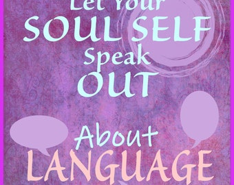 Soul Self Speaks @ Body LANGUAGE of LOVE- Intention - Words - Poem - Song *Reflective JOURNAL Activity! Download Now!