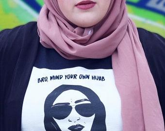 8a93318ae98 mind your own hijab Tshirt