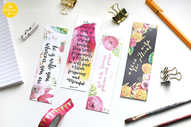 Islamic bookmark gift set muslim islamic wedding favors
