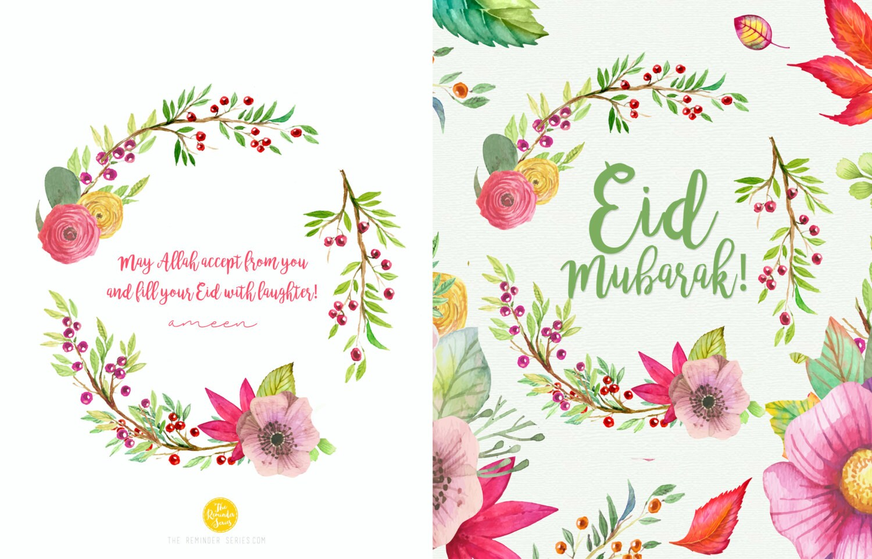 eid mubarak card downloadable printable instant download