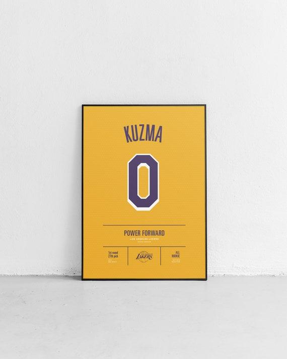 f458bf6aa33 KUZMA Lakers Stats Print