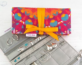Travel jewelry roll Etsy