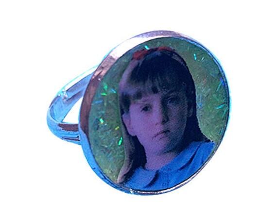 MATILDA glitter ring