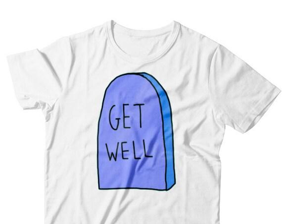 GET WELL t-shirt + Amy Winehouse glitter earring ( free )