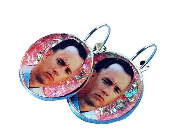 Tom Hanks glitter earring