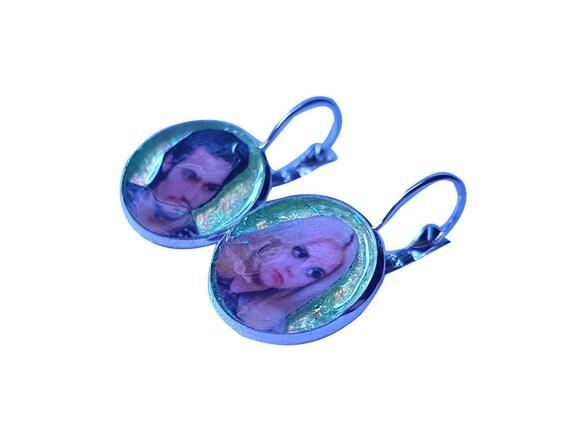 BUFFALO 66 glitter earring