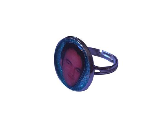 QUENTIN TARANTINO glitter ring