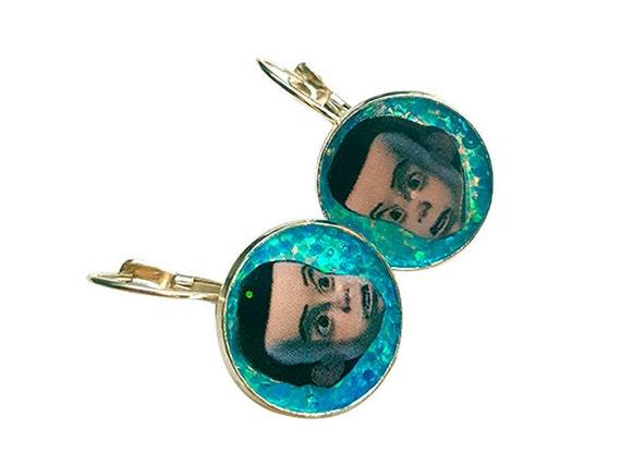 SID toy story handmade glitter earring