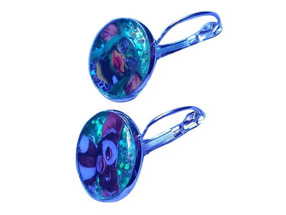 GREMLINS (Gizmo y Greta) glitter earring