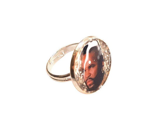 B.A. BARACUS ( The A-Team) glitter ring