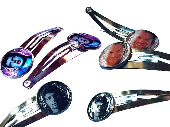 glitter hairpin with Camarón de la Isla / Ian Curtis (Joy Division) / Aphex twin