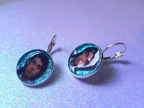 NICK CAVE glitter earring